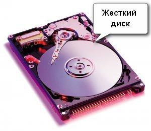 Это жесткий диск компьютера, со снятой крышкой